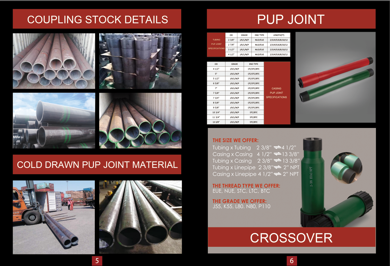 coupling|pup joint|coupling blank|casing coupling|butterfly valve