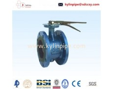 D41X-10/16Handle flange butterfly valve