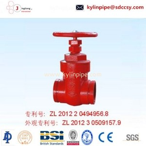 Z85T-10/16 patented trench gate valve