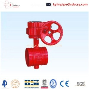 XD381X-10/16Q signal groove butterfly valve